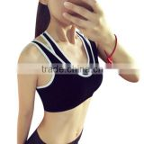 Hot sale professional custom wholesale sports bra, yoga sports women sexy nude bra, women's sports bra