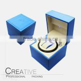 2016 Blue LED light leather winder box modren watch winder CY-ZW1