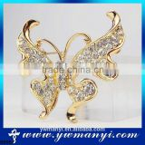 High quality jewellery china top ten selling products custom logo brooch butterfly animal brooch B0087