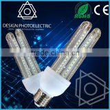 New design SMD dimmable 3w 4w 10-30V DC mini corn G9 led bulb with CE ROHS, Glass led light Bulb E27 Led Corn Light