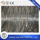 15years wire mesh making experience heavy duty eco-friendlyrazor razor wire fencing for highway