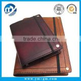 Cheap promotion pu leather daily planner diary notebook in China