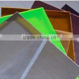 PS material mirror sheet - plastic mirror decoration sheet