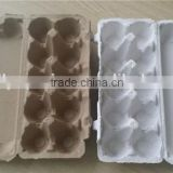 Mold recycle biodegradable molded fiber paper pulp egg trays price for sale manufacturers