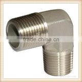 High Quality cast iron pipe fitting elbow with Trade Assurance/JIC MALE 74 DEGREE CONE ELBOW 1J9