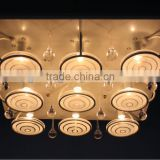G9&LED square ceiling lamp new mordern style ceiling lights
