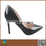 High heel PU leather dress shoes women high heel footwear in Guangzhou                                                                         Quality Choice