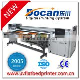 Docan wide format multifunction 3.2m outdoor hybrid uv printer used for advertising billboard banner lightbox printing
