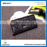 long style lady wallet hot sales woman wallet guangzhou PU leather wallet