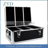 510 Aluminum Frame with Black PVC Material CD/DVD DJ Hard Case ZYD-HZMdc008