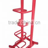 VERTICAL STAND SAND BAG RACK WITH 5 TIERS