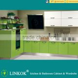 Linkok Furniture lacquer kitchen cabinets price and orange kitchen cabinet and ash solid wood kitchen cabinet