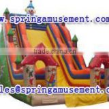 giant happy clown inflatable slide, inflatable water slide, inflatables SP-SL104