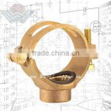 WORLD COPPER Bronze Bracket Fitting Pipe Clamp