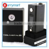 Single 18650 Battery Authentic Tesla 60w Box Mod Black/Silver Aluminum 60w Mod Wholesale