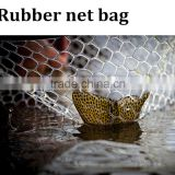 High quality wholesale rubber mesh pouch fish net bag                                                                         Quality Choice