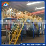 High efficiency oil refinery machine to diesel oil / waste cars tire recycling plant for diecel oil