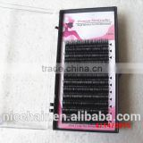 High quality own brand eyelashes silk lashes extension silk mink eyelash extension
