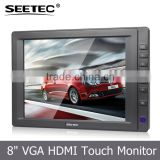 SEETEC 8 Inch TFT LCD car central armrest monitor hdmi lcd controller board T813
