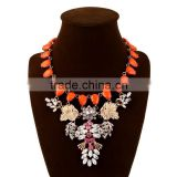 2015 newest jewelry designs,stylish statement necklace, fashion necklace yiwu market