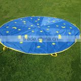 Dia.5m moon&star play parachute child parachute for kids
