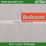Sound-Absorbing non-woven material graceful wall fashion wallpaper with different design