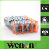 5 color PGI225 CLI226 edible ink cartridge for Canon MG5210 with chip
