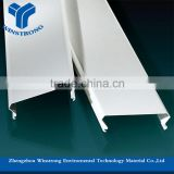 Hot sale building material acoustic Aluminum strip ceiling tiles