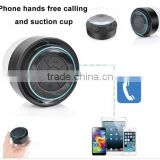 2014 One Of The Most Popular Waterproof Mini Speaker Suction-cup Bathroom Bluetooth Speaker