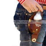 Beer Leather Can Bottle holster