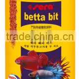 110G 250ML sera fish food for betta bit