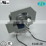 Oven fan motor Ac electric motor YJ48-20: 120V, 60hz, 2000-3000rpm air cooler motor