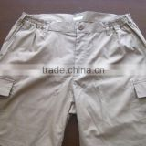 summer cool design twill grey casual running trouser and short pants
