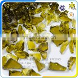 Zibo Tianrui opaque yellow terrazzo glass chips factory