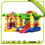 High Quality Colorful Entertainment Multiplay Lion Inflatable Bouncy Castle Commercial Bounce House Used Party Jumpers For Sale