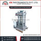 Highly Stable Concrete Cube Compression Testing Machine with Quick and Precise Results