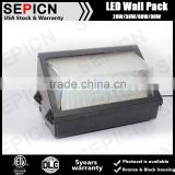 ETL listed outdoor led wall pack 36w US standard wall lighting fixture