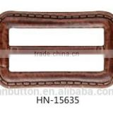 eco-friendly plastic ABS imitation leather buckle