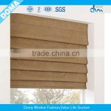 customized window curtain fabric fire retardant blackout fabric for bedroom/roman blind