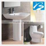 2016 pishon sanitary ware chinese wc one piece toilet basin combination