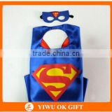 Party funny superman costume halloween superhero cape for kids