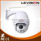 LS VISION Cctv Camera 2mp 6-22 m motorized lens Night Vision Ptz Outdoor Ip Camara Ip Wifi Ojo De Pez P2P