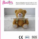 2015 HOT Selling Lovely Cute Plush Bear Toys with vest in new design