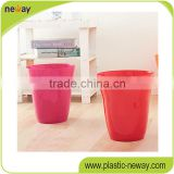 Cheap high quality Open top PP home use Stocked 10L novelty trash can for sale