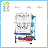Artist magnetic single side iron paint easel stand