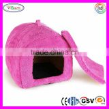 F131 Cat Arch House Pet Bed Crate Igloo for Small Animal with Kennel Pad Pet Beds House Cat