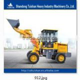 CE approved 1.0T brand new Single lever pilot control agricultural farm and garden use mini wheel loader