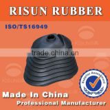 Custom Auto Rubber Dustproof Cup Rubber Bellow by using imported HV paper for element material