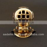 Deep Sea Diving Helmet Brass Gift Item Paper weight Table Decor Nautical Diving Helmet