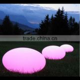 circular color changing outdoor garden floor led ball lights